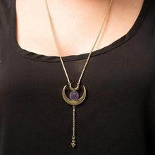 Ainu Necklace - Amethyst