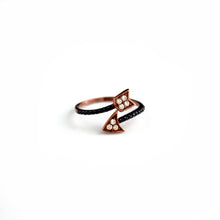 Arrow Ring with Swarovski