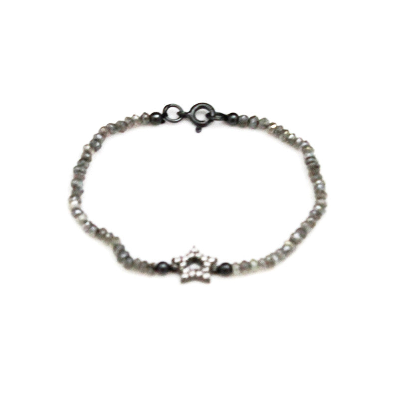 Star Gray Spinel Bracelet