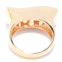 Open Scrollwork Wave Ring