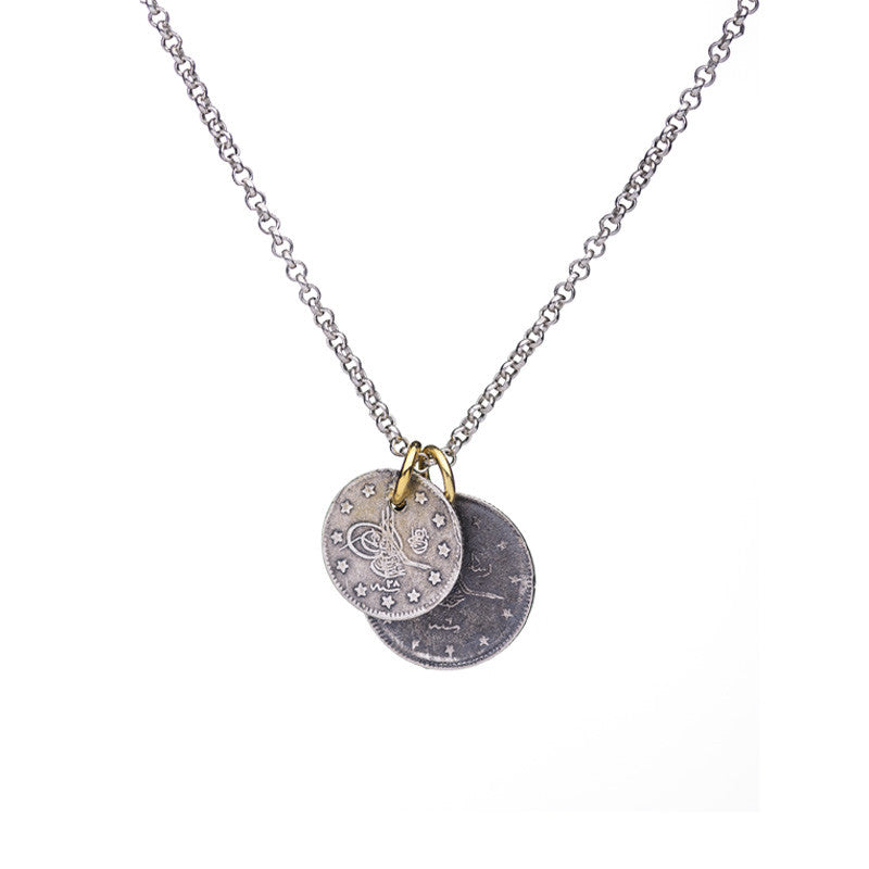 Old Coin Necklace