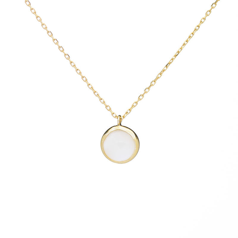 Mother of Pearl Short Necklace