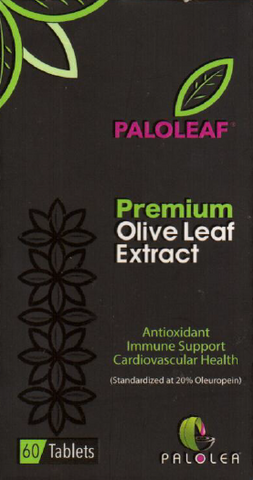Paloleaf Olive Leave Extract package - front