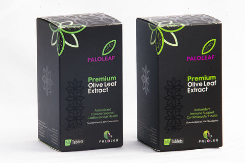 2 Box Deal Paloleaf Olive Leaf Extract by Palolea 20% Oleuropein
