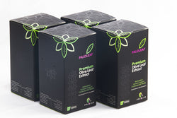 Premium Olive Leaf Extract: 4 BOX (£14.50 / Box ) - 60 Tablets / Box