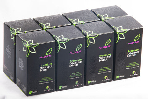 Premium Olive Leaf Extract: 8 BOX (£14.00 / Box ) - 60 Tablets / Box