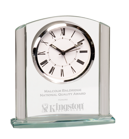 Glass Arch Clock Award
