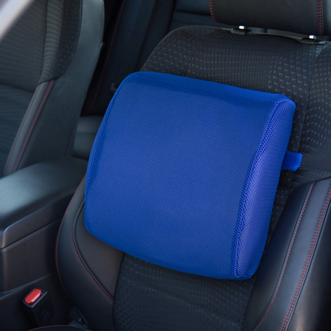 Memory Foam Lumbar Support Pillow Seat Cushion for Office Chair ...