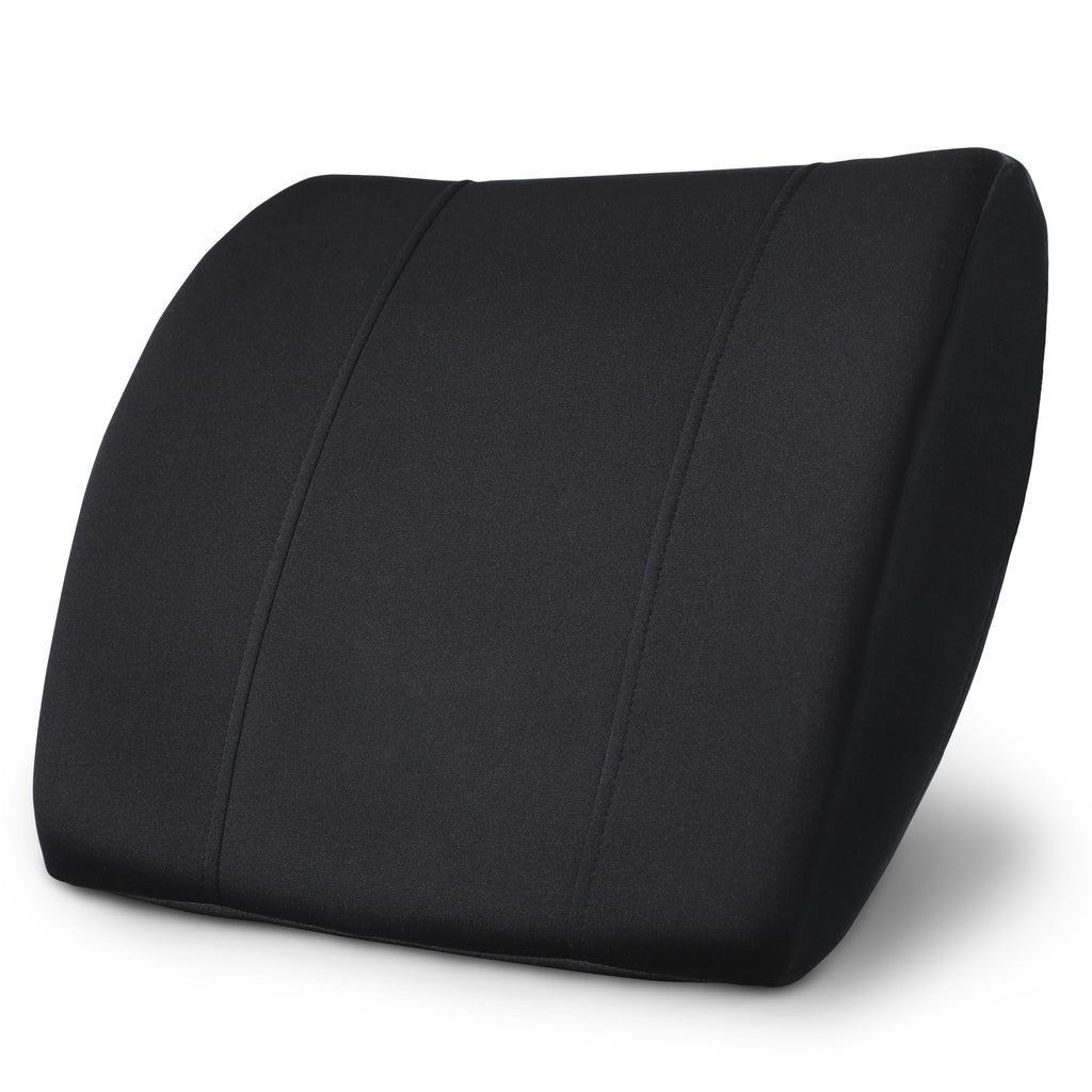 High Density Memory Foam Lumbar Support Cushion - PharMeDoc