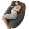 PharMeDoc Pregnancy Pillow, U-Shape (Olive Drab, Detachable)