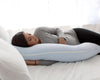 U-Shape Pregnancy Pillow (Baby Blue) - PharMeDoc