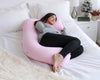 U-Shape Pregnancy Pillow (Light Pink) - PharMeDoc