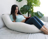 U-Shape Pregnancy Pillow (Light Grey)