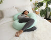 Mint Green Full Body Pregnancy Pillow (C-Shape) - PharMeDoc