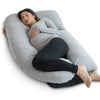 U-Shape Pregnancy Pillow (Grey) - PharMeDoc