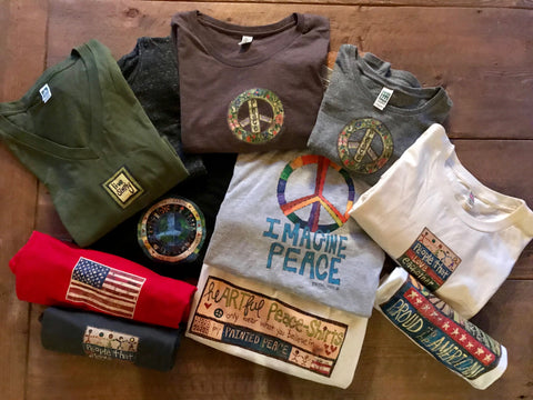 """heARTful peace-shirts"" & APPAREL"