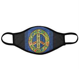 Painted Peace Face Mask