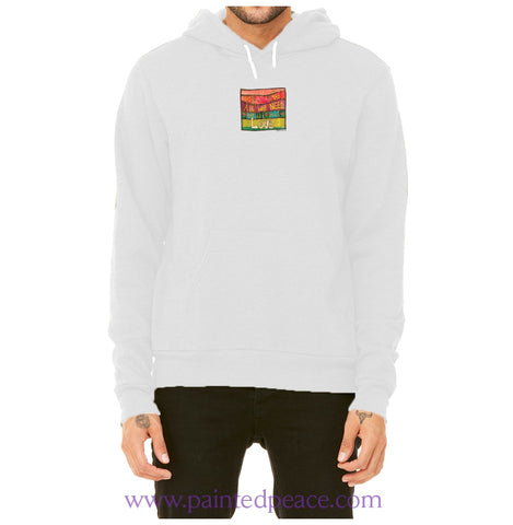 All We Need Is Love Heartful Peace Hoodie X-Small / White Hoodie