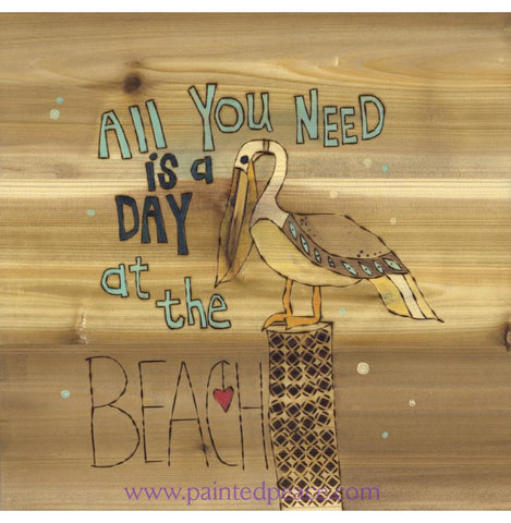 All You Need Is A Day At The Beach - Original