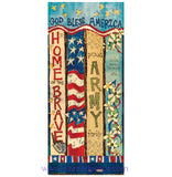 Army Custom Art Pole - 3 Foot
