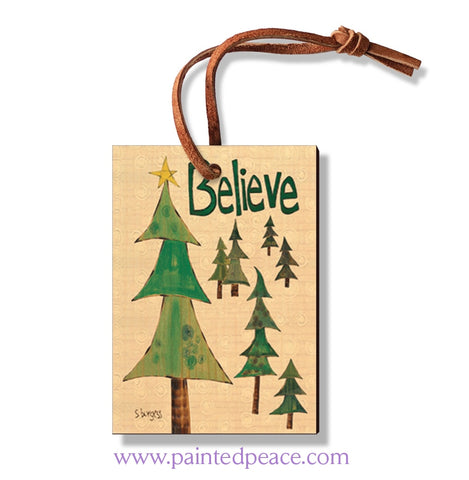 Believe Wooden