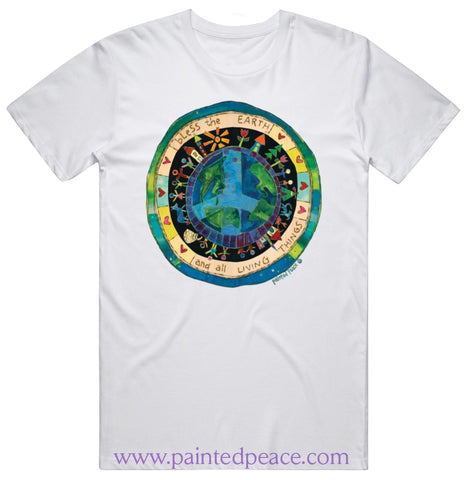Bless The Earth Heartfelt Peace-Shirt Classic / White Small T-Shirt