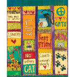 Cat Love - Custom Art Pole 20