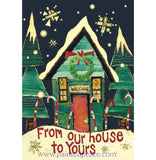 From Our House Boxed Set Of 10 Cards And Envelopes