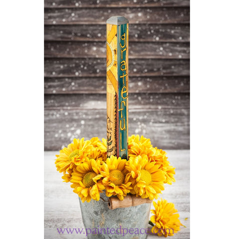 Grateful Mini Art Pole 16 Inch