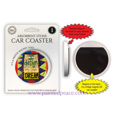 I Design My Own Dream Car Coaster / Magnet