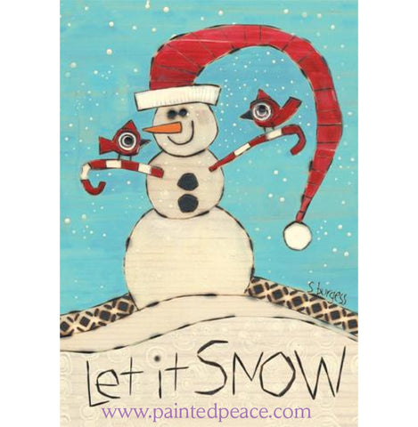 Let It Snow Boxed Set Of 10 Cards And Envelopes