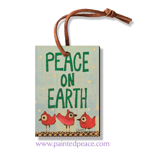 Peace Birds Ornament