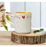 Peace Everyday Spread Love Handcrafted Mug 18 Oz