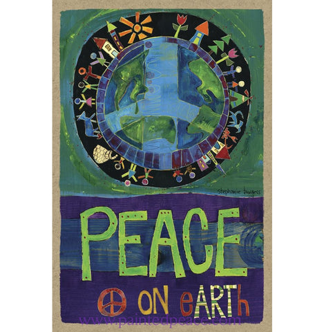 Peace On Earth Wooden Sign