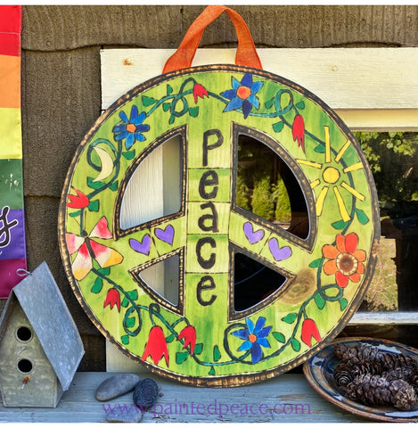 Peace Sign - Door And Out Door Wall Decor