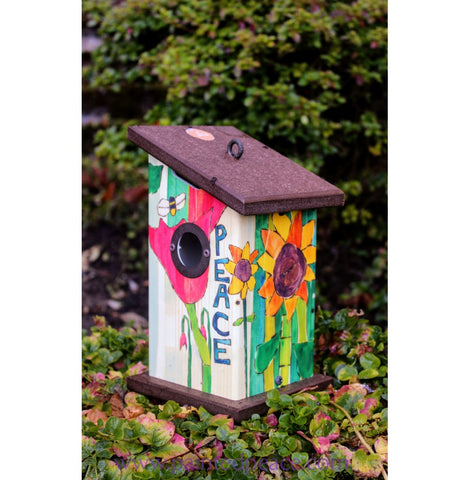 Peace Birdhouse New
