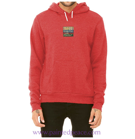 People That Love Each Other Heartful Peace Hoodie Red / X-Small Hoodie