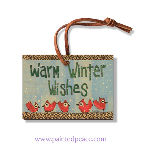 Warm Winter Wishes Ornament
