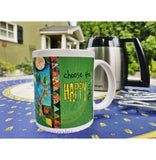 You Brighten My World Ceramic Travel Mug 18 Oz
