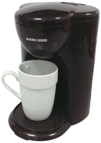 Black & Decker DCM25 1 Cup Coffee Maker 220-240 Volt 50 Hz - Popularelectronics.com