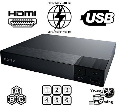 Sony BDP-S1700 Region Free Blu-Ray DVD Player - Popularelectronics.com