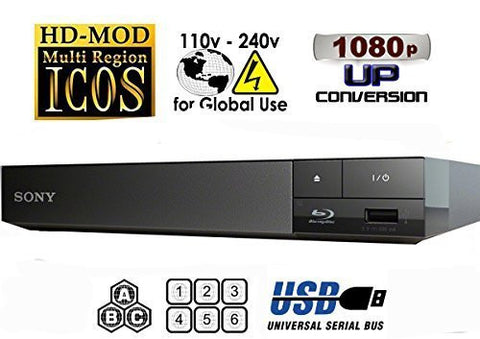 Sony S1500 Multi System Region Free Blu-Ray Disc DVD Player - Popularelectronics.com