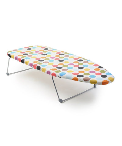 Perilla Mini Portable Table Top Ironing Board with Folding Legs, 12 by 30""