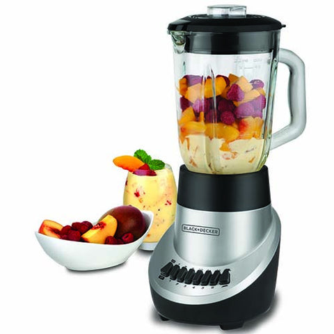 Black and Decker BLBD10GPS 350 Watt Glass Jar Blender 220-240 Volt 50 Hz - Popularelectronics.com