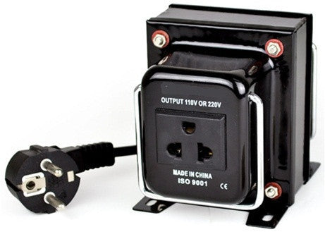 Seven Star THG-500 Watt Step Up/Down Voltage Transformer Converter - Popularelectronics.com