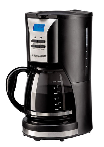 Black & Decker DCM90 1000W 12 Cup Coffee Maker 220-240 Volt 50 Hz - Popularelectronics.com