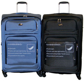 UpRight Light Weight 4 Wheeled Expandable with TSA Lock - 3pc Set - Popularelectronics.com