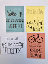 Inspiration Cards (Set of 8)