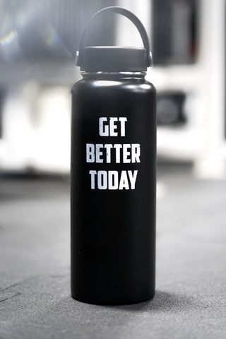 Get Better Today Water Bottle