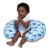 Bobby Pillow Positioner and Nursing Pillow- Whale